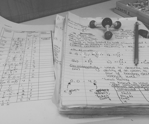 chemistry, notebooks, and notes image