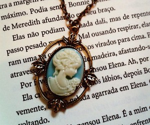 book, katherine, and neckless image