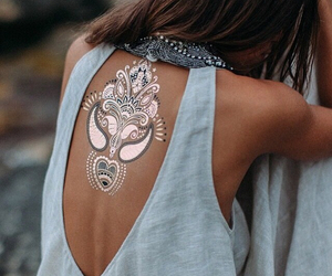 tattoo, summer, and style image
