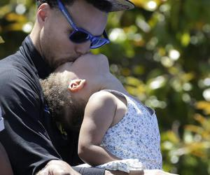 steph curry, family goals, and riley curry image