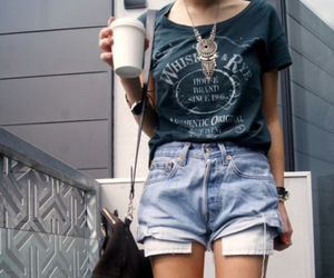 fashion, indie, and coffee image