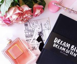 Dream, perfume, and flowers image