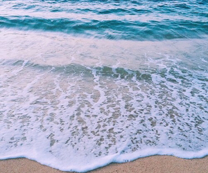 beach, blue, and good vibe image