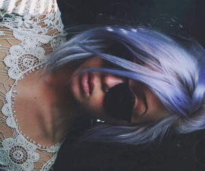 hair, grunge, and hipster image