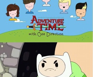 adventure time and one direction image