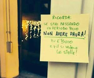 paura, stelle, and frasi italiane image