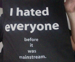 hate, mainstream, and black image