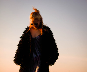 fashion, grunge, and sunset image