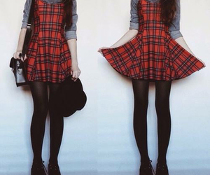 grunge, style, and dress image