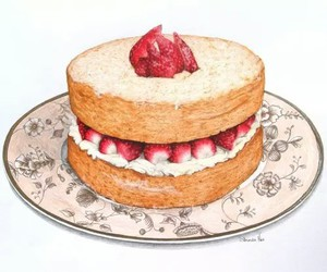 art, artist, and cake image