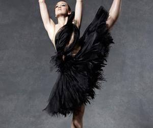 art, ballerina, and shooting image