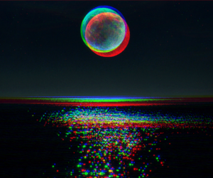 beauty, eclipse, and sea image
