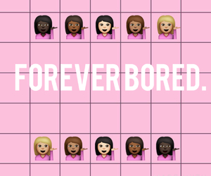 bored and pink image