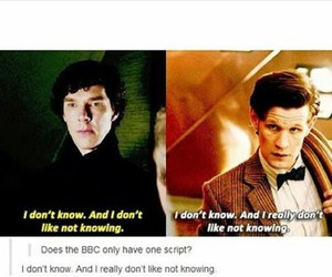 bbc, doctor who, and sherlock image