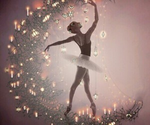 ballet, beautiful, and candles image