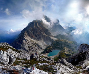 Alps, landscape, and mountain image