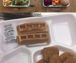 finland, school, and food image
