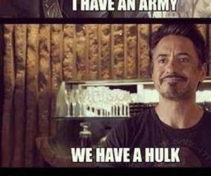 funny, Hulk, and Avengers image