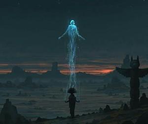spirit, art, and fantasy image