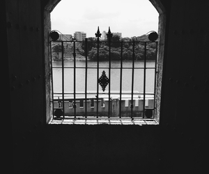 black and white, Dominican Republic, and river image