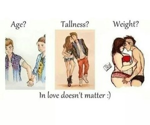 love, age, and couple image