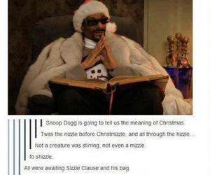 christmas, funny, and snoop dogg image