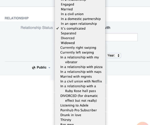 facebook, relationships, and relationship status image