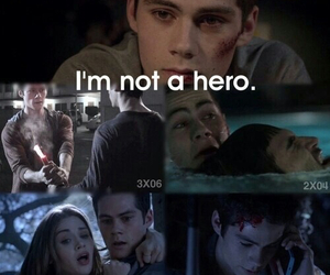 teen wolf, hero, and stiles image
