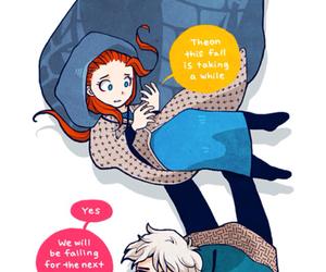 anime, art, and books image