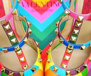 shoes, colorful, and fashion image
