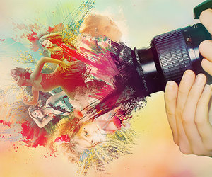 colorful, people, and photography image