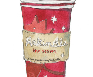christmas, starbucks, and wish image