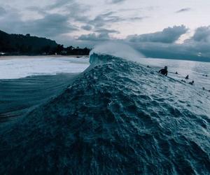 ocean, beach, and waves image