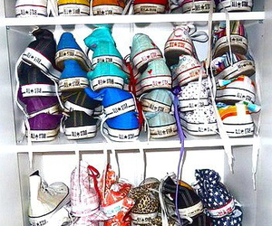 closet, converse, and color image