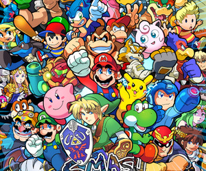 super smash brothers image
