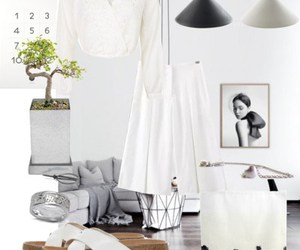 minimal, white on white, and Polyvore image