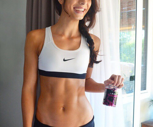 exercise, fit, and girl image