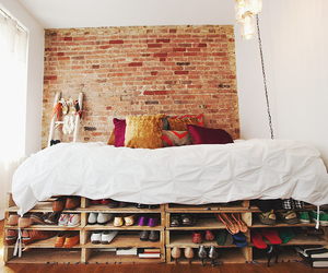 bed, diy, and bedroom image
