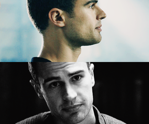 d, divergent, and theo james image