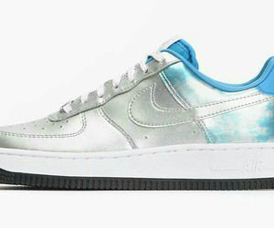 metallic, run, and nike air force one image