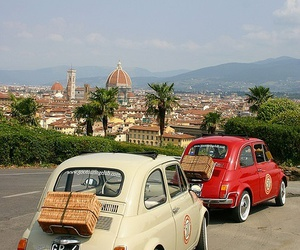 car, florence, and vintage image