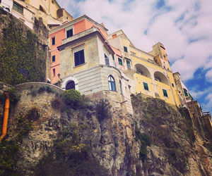 Amalfi, clouds, and architecture image