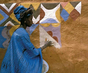 africa, colors, and yellow image