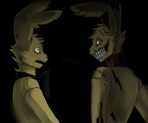 five nights at freddys and springtrap image