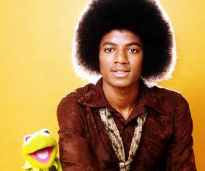70's, Afro, and kermit image