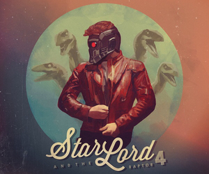 star lord, Marvel, and jurassic world image