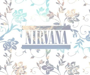 floral, nirvana, and wallpaper image