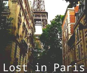 paris, couple, and lost image