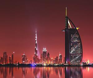 beautiful, Dubai, and night image