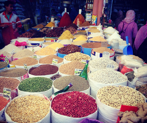 market and morocco image